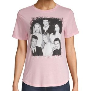 Friends Juniors Cast Photo Picture Pink Shirt TV